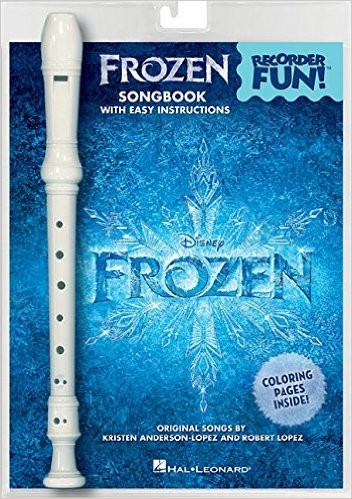 Frozen Recorder Fun Book Pack