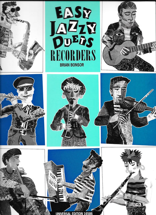 Easy Jazzy Duets Recorders Brian Bonsor