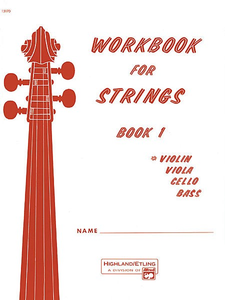 Workbook for Strings Violin Book 1