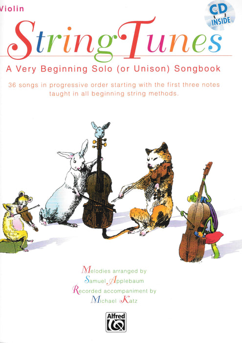 String Tunes Violin Book with CD
