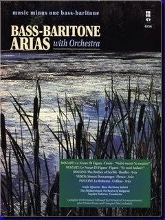 Bass-Baritone Arias With Orchestra - Music Minus One