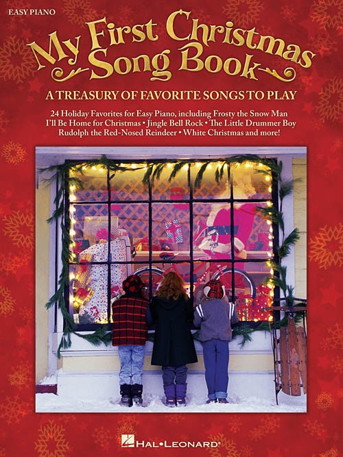 My First Christmas Easy Piano Songbook