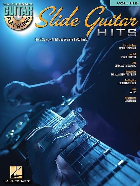 Slide Guitar Hits Guitar Play Along vol 110