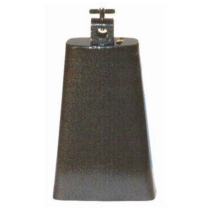 Powerbeat Cowbells Steel Black Pewter Finish by