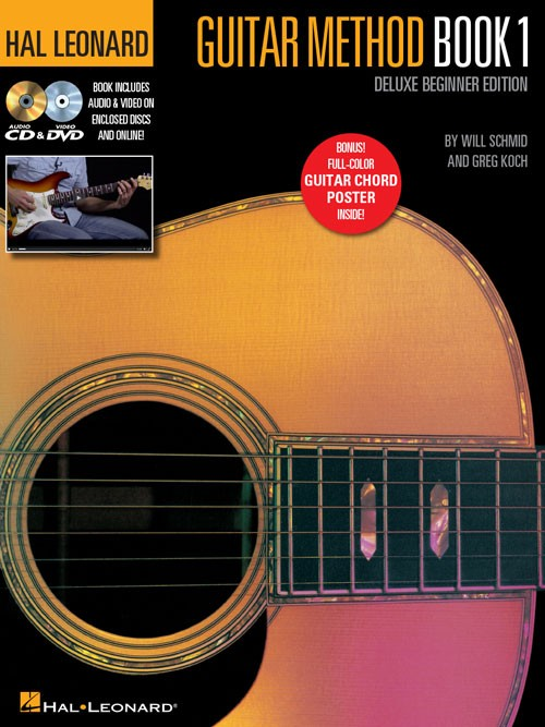 Hal Leonard  Guitar Method Book 1 Deluxe
