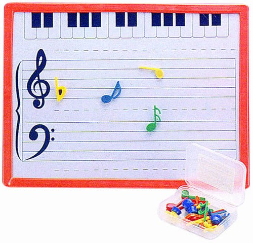Magnetic Music Teaching Board with Music Notes by