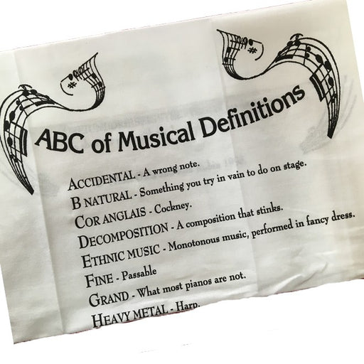ABC Tea Towel