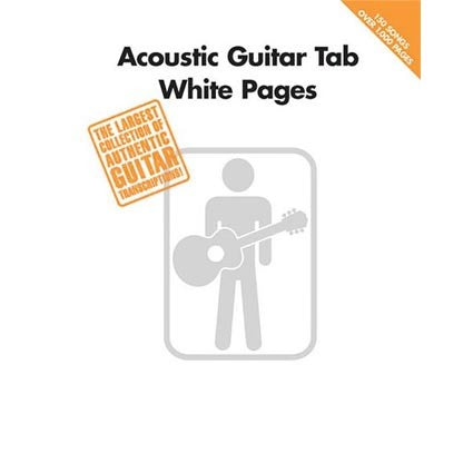 Acoustic Guitar Tab White Pages by