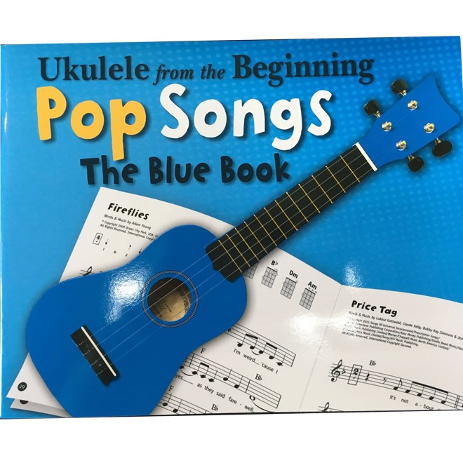 Ukulele from the Beginning Pop Songs (Blue)