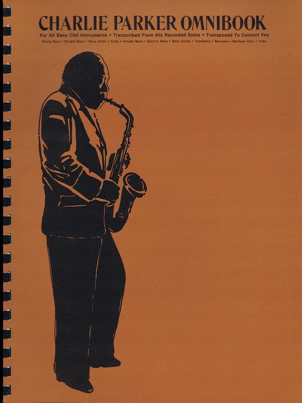 Charlie Parker Omnibook for Bass Clef Instruments