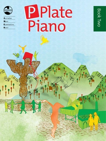 P Plate Piano Books