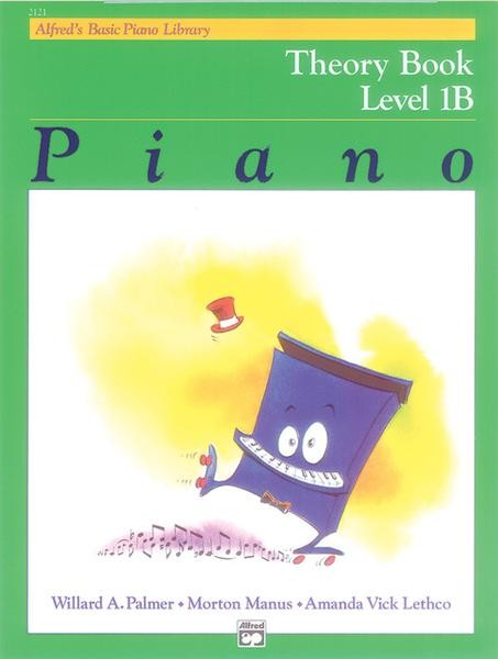 Alfred's Basic Piano Library Theory Book
