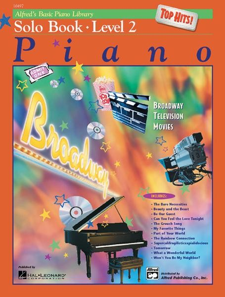Alfred's Basic Piano Top Hits! Solo Book