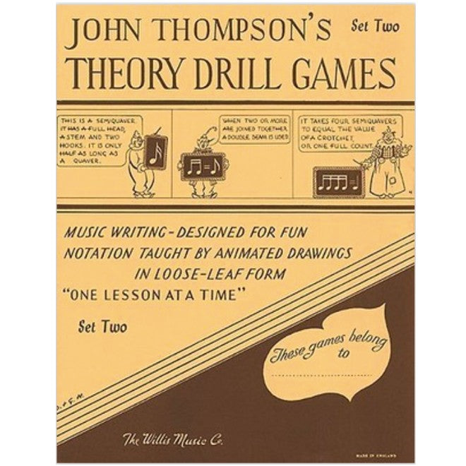 Theory Drill Games John Thompson