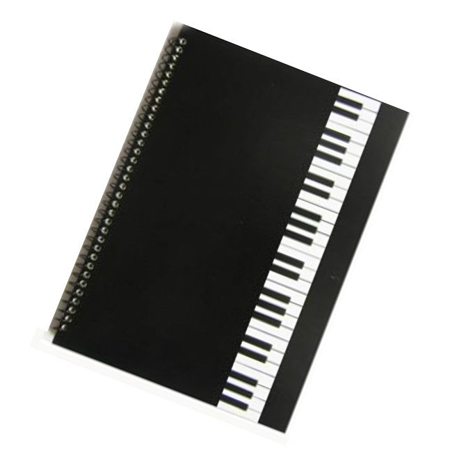Music Manuscript Book Piano Keys