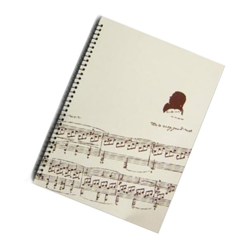 Music Manuscript Book Sheet Music Beethoven