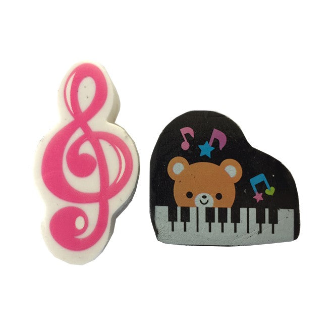 Erasers Pack of Two