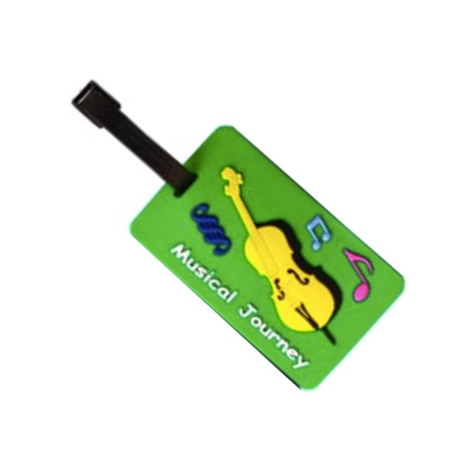 Music Bag/Luggage Tag Cello Design