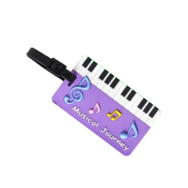 Music Bag/Luggage Tag Keyboard Design