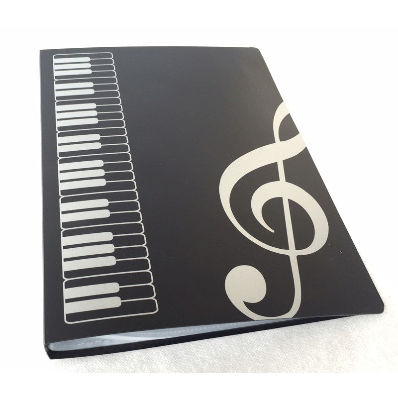 Music Pocket File A4 Clear