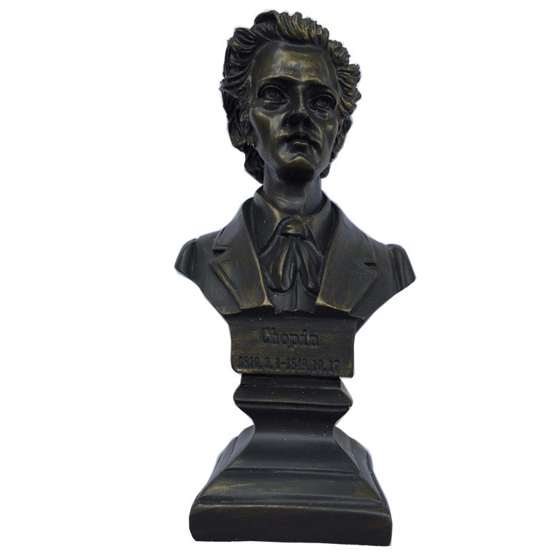 Composer Bust Statue - Chopin