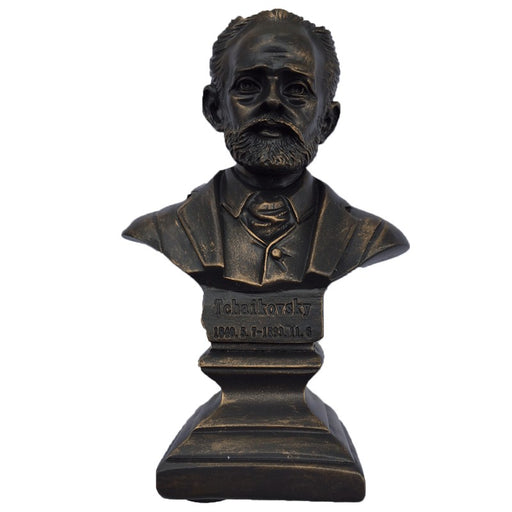 Composer Bust Statue - Tchaikovsky