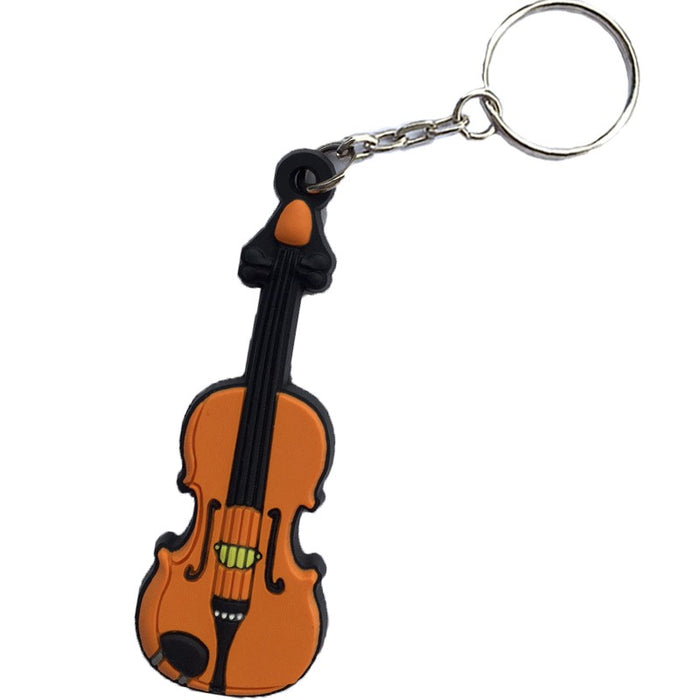 Music Keychain Violin