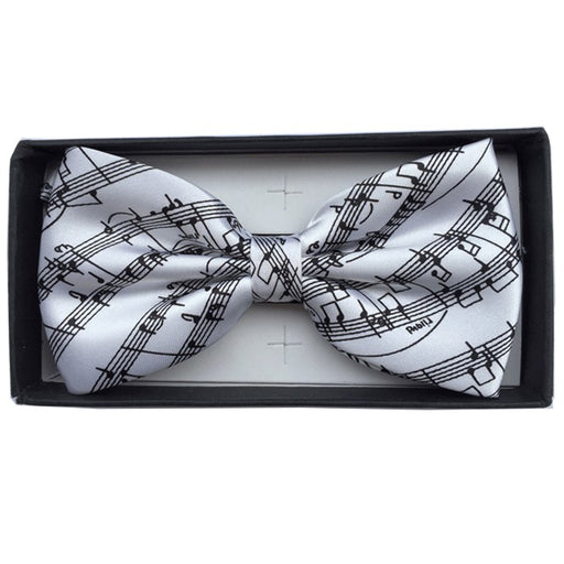 Bow Tie Sheet Music White