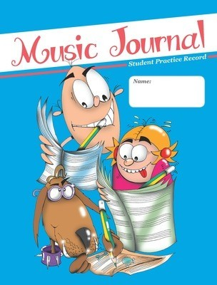 Accent Music Journal Student Practice Record