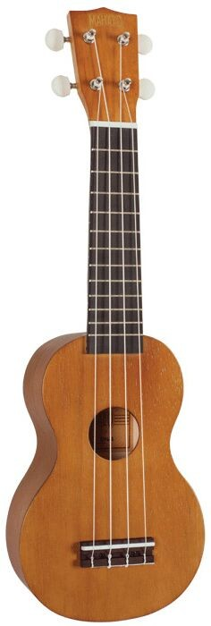 Mahalo Purple Soprano Ukulele with Carry Bag