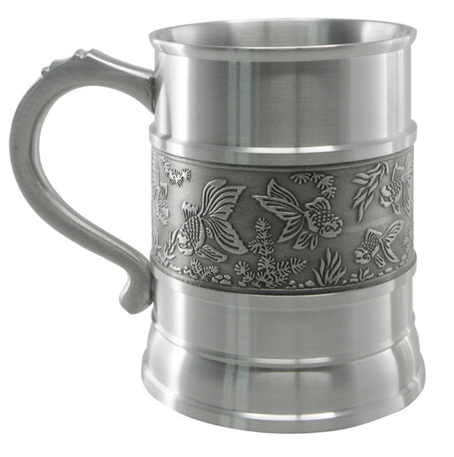 Oriental Designs Beer Mug (Goldfish)