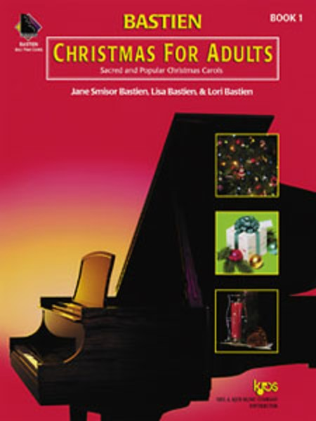 Bastien Christmas Piano for Adults Bk 1