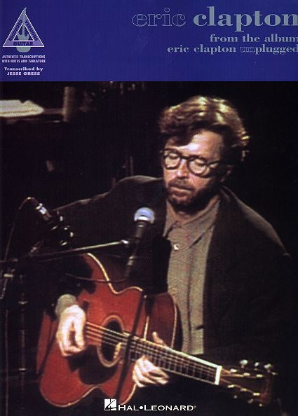 Eric Clapton Unplugged Guitar Tab by