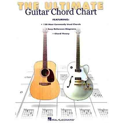 Ultimate Guitar Chord Chart by Hal Leonard