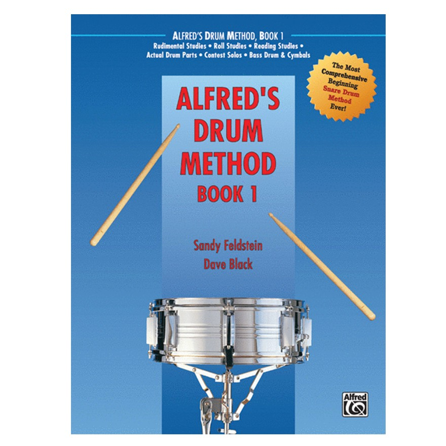 Alfred's Drum Method Book 1 by