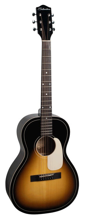 Silvertone Acoustic Parlour Guitar with Solid Spruce Top