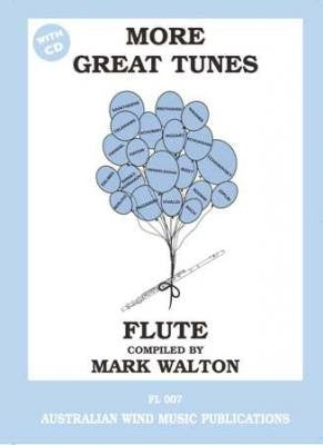 More Great Tunes Flute Book/CD Mark Walton by