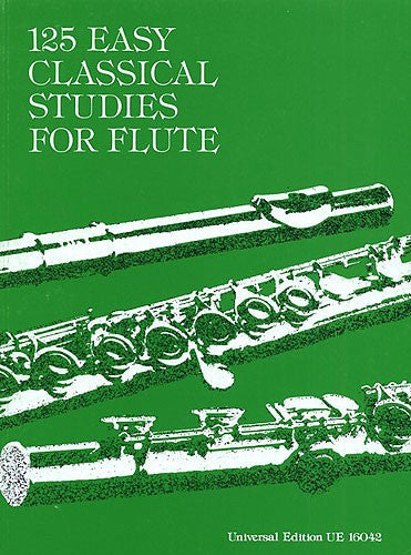125 Easy Classical Studies Flute by