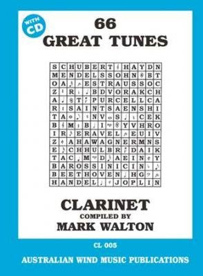 66 Great Tunes for Clarinet Mark Walton by