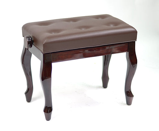 Piano Stool with Cabriolet Curved Legs Height Adjustable