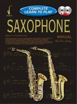 Complete Learn to Play Saxophone Book/CDs by Progressive