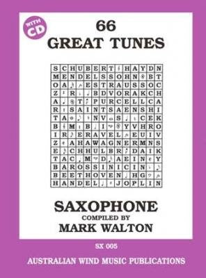 66 Great Tunes Saxophone Mark Walton by