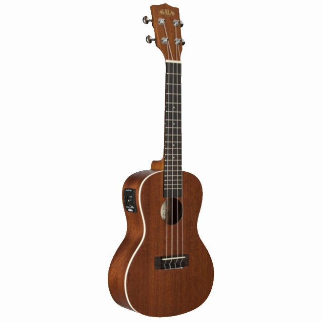 Kala Concert Ukulele in Natural Satin Mahogany w/EQ