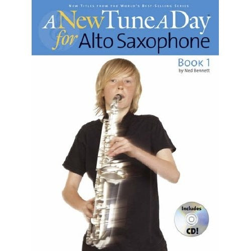 New Tune a Day Alto Saxophone Book 1/CD by
