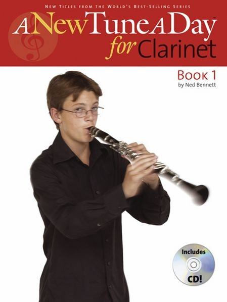 New Tune a Day Clarinet Book/CD by