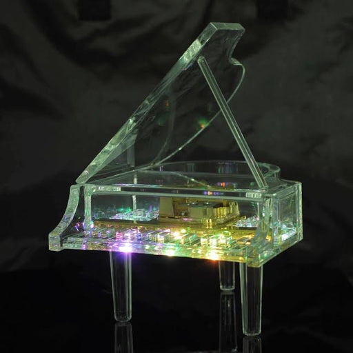 Acrylic Music Box Grand Piano