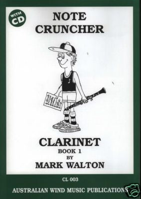 Note Cruncher Book 1 Clarinet Mark Walton by