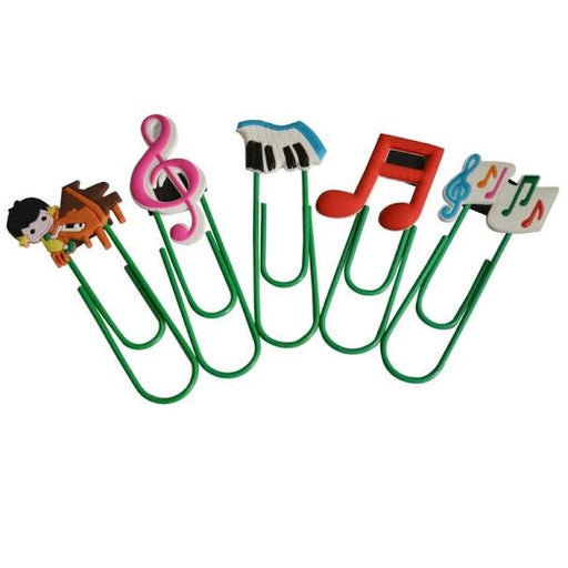 Music Paperclip Bookmark 1Pce
