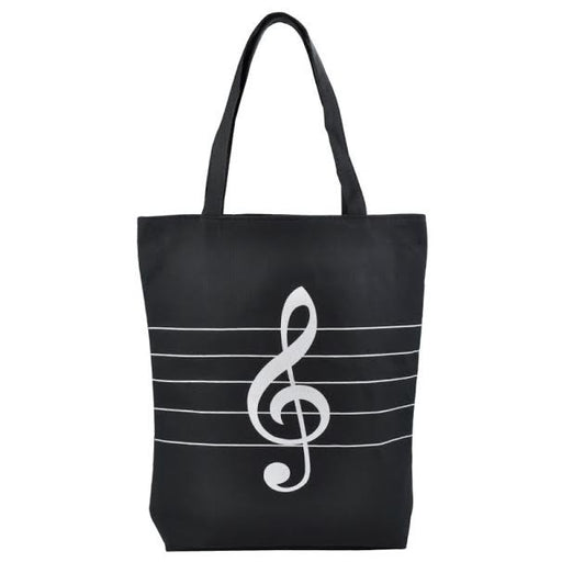 Music Tote Bag Treble Clef