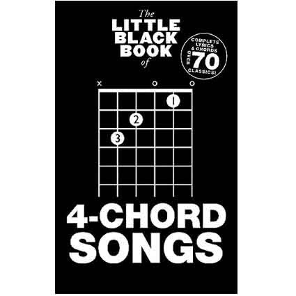 Little Black Songbook 4 Chord Songs by